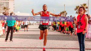 runner winning